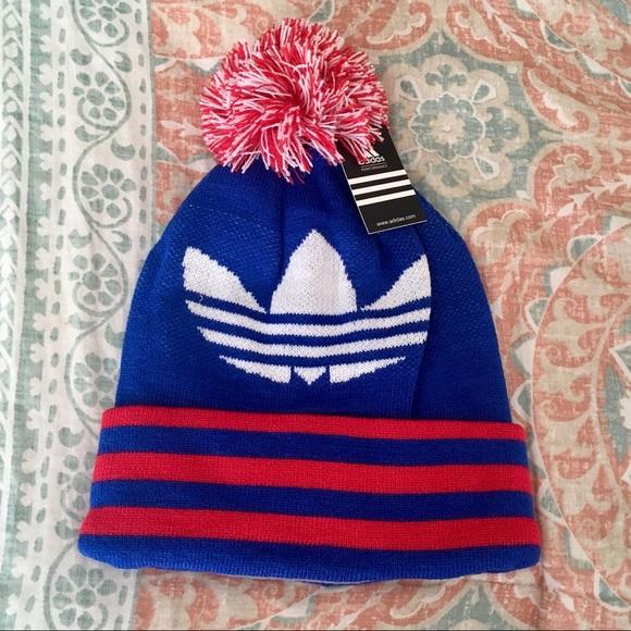 3194ad4329ce7 NWT✨ Adidas Warm Beanie Winter Hat Fleece Lined